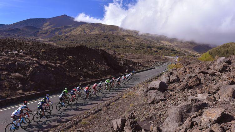 Après la montée finale de l'Etna, le Blockhaus constitue la deuxième arrivée au sommet de ce 100e Giro.