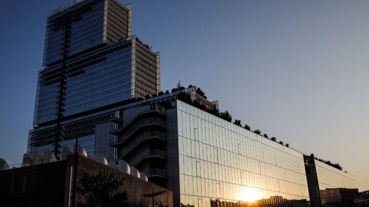 Le palais de justice de Paris, le 22 septembre 2020. (GEOFFROY VAN DER HASSELT / AFP)