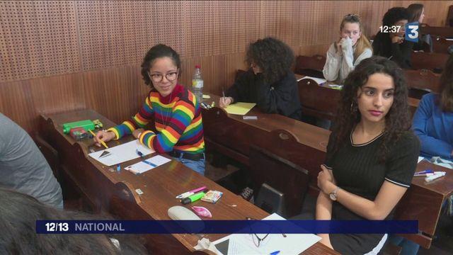Enseignement supérieur : des lycéens testent les bancs de la fac