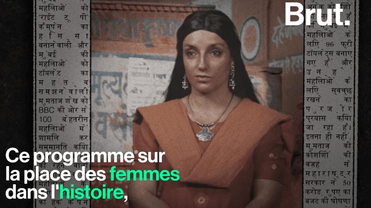 """VIDEO. """"Virago"""", la chaîne YouTube qui parle de ces femmes occultées par l'histoire (BRUT)"""