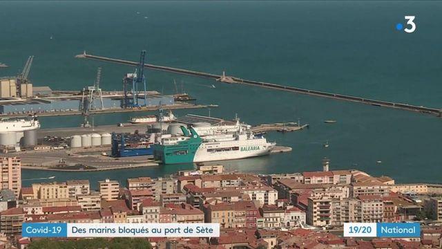 Coronavirus : des marins bloqués au port de Sète