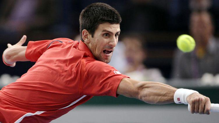 Novak Djokovic malmené par Sam Querrey au 2e tour du Masters 1000 de Paris-Bercy