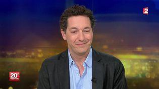 L'acteur et réalisateur Guillaume Gallienne, le 1er mars 2014 sur France 2. ( FRANCE 2)