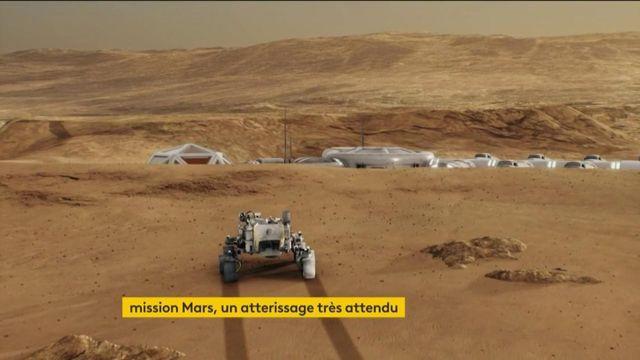 Mars : le rover Perseverance atterrira dans la soirée de jeudi