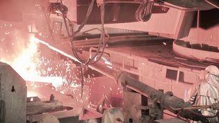 La hausse des prix de l'acier et les difficultés d'approvisionnement ont des conséquences pour la filière métallurgie qui craint une pénurie. (France 3)