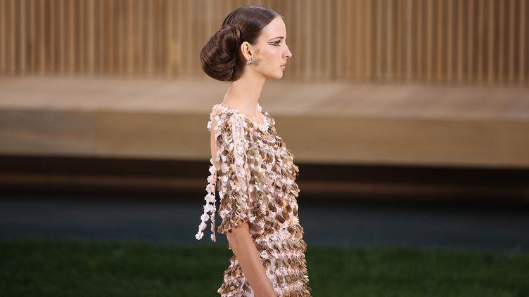 Chanel haute couture printemps-été 2016, à Paris  (Hendrik Ballhausen / DPA)