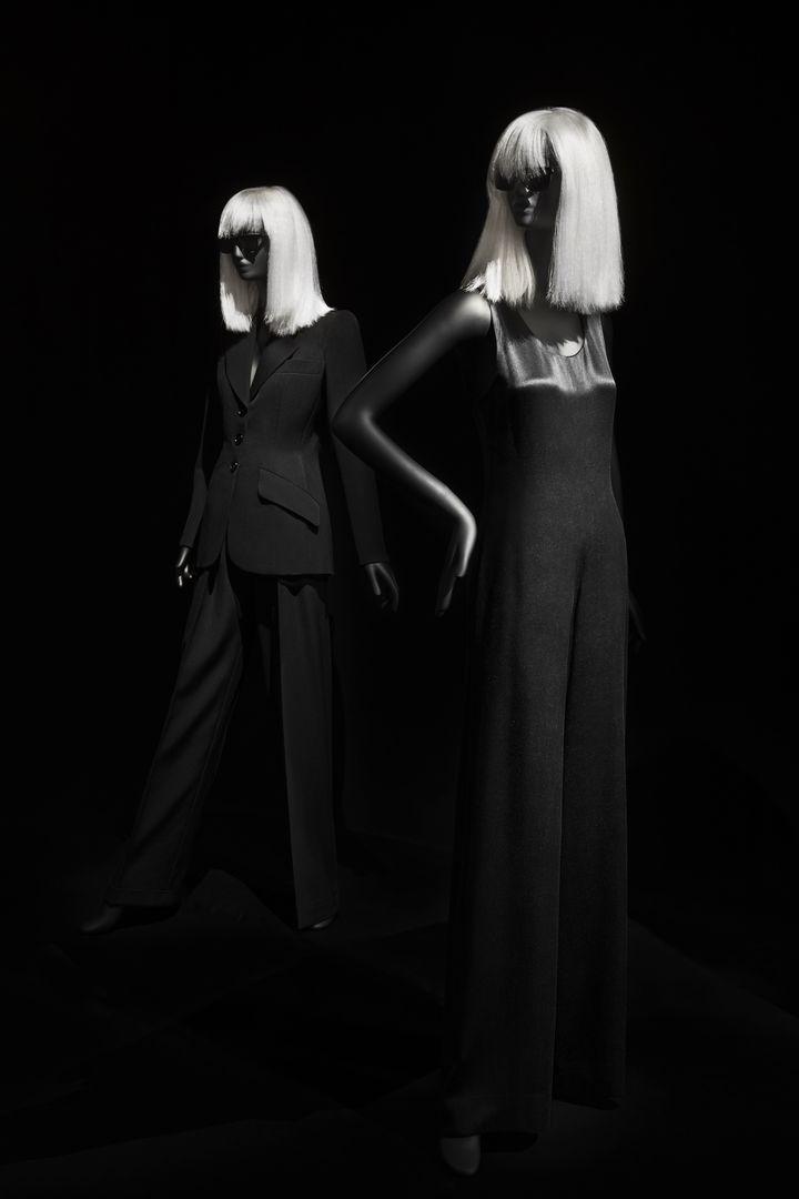 """Exposition """"Betty Catroux Yves Saint Laurent Féminin Singulier"""" au musée Yves Saint Laurent Paris. (STEVEN MEISEL)"""