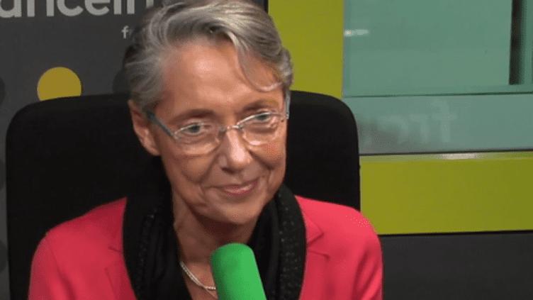 Elisabeth Borne est la présidente directrice générale de la RATP. (RADIO FRANCE / CAPTURE D'ÉCRAN)