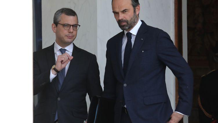 Alexis Kohler aurait approuvé des contrats entre le port du Havre, où il siégeait au conseil de surveillance, et l'armateur MSC, une entreprise de sa famille. (LUDOVIC MARIN / AFP)