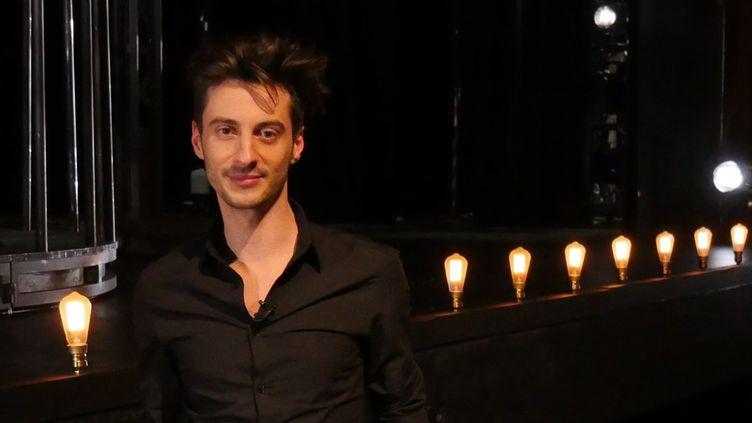 Thomas Jolly au Théâtre du Châtelet, début février.  (Lorenzo Ciavarini Azzi/Culturebox)