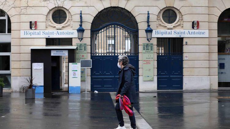 L'hôpital Saint-Antoine à Paris. (?TATIF/WOSTOK PRESS / MAXPPP)