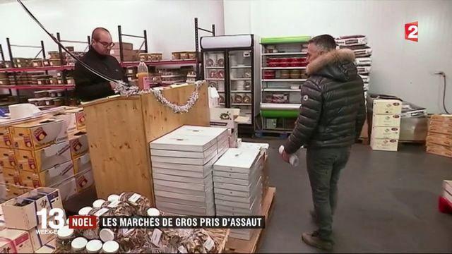 Noël : commerçants et restaurateurs font le plein de marchandises