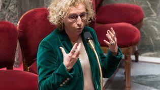 La ministre du Travail, Muriel Pénicaud, le 24 mars 2020. (JACQUES WITT / POOL)