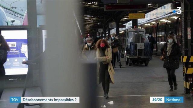 TGV : le casse-tête pour réussir à se désabonner