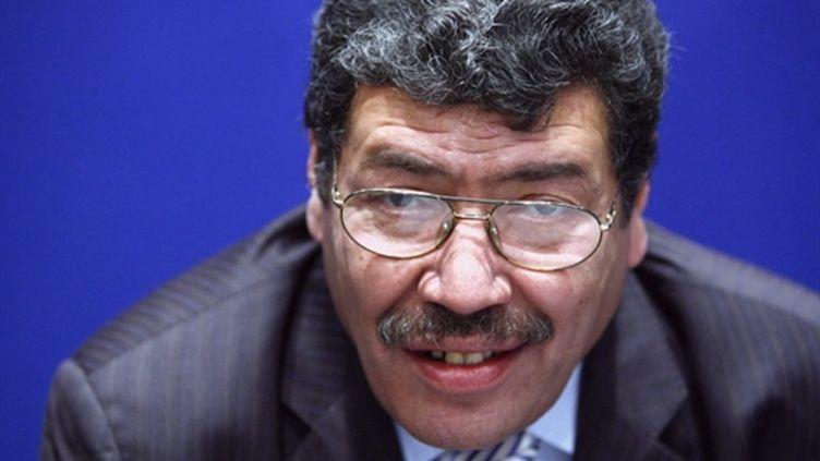 Abderrahmane Dahmane, ancien conseiller en charge de la diversité de Nicolas Sarkozy, limogé le 11 mars 2011 (AFP/FRED DUFOUR)