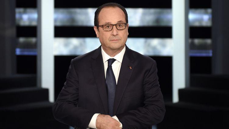 (François Hollande lors d'une émission sur TF1 le 06 novembre 2014 © Reuters)