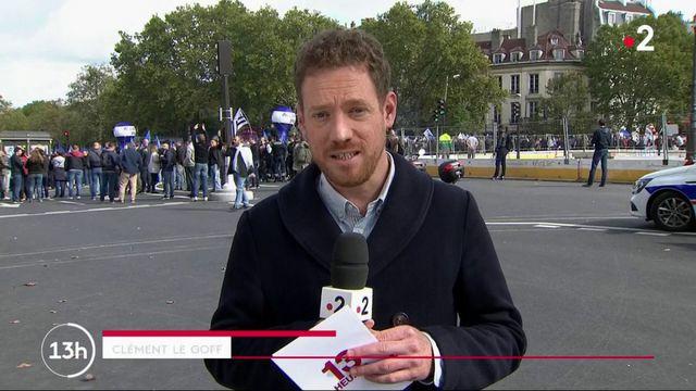 Policiers : une mobilisation sans précédent à Paris