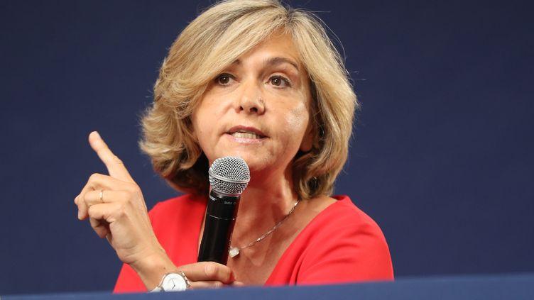 Valérie Pécresse, présidente de la région Ile-de-France, le 30 juin 2018. (VALERY HACHE / AFP)
