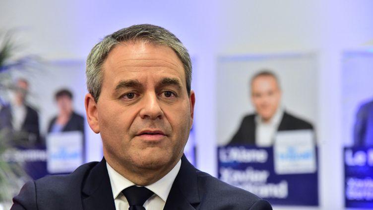 (Xavier Bertrand, tête de liste LR aux élections régionales © Maxppp)