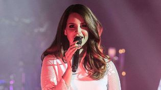 Lana Del Rey sur scène à Detroit le 15 mai 2014.  (MediaPunch/REX/SIPA)