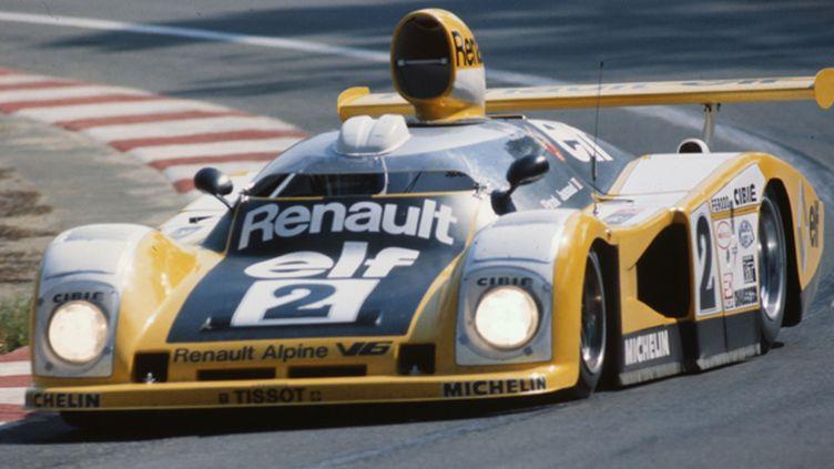 La Renault-Alpine A442B vainqueur aux 24 Heures du Mans 1978