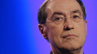 Claude Guéant, leministre de l'Intérieur, le 18 octobre 2011 à Paris. (ALEXANDER KLEIN / AFP)