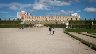 Le chateau de Versailles (Yvelines), le 7 août 2020. (LEO PIERRE / HANS LUCAS / AFP)