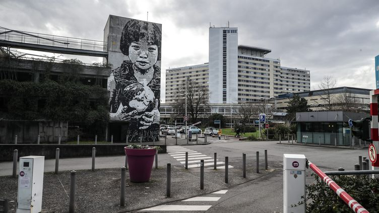 L'hôpital Pellegrin de Bordeaux, où était hospitalisé un malade du coronavirus Covid-19, ici le 25 janvier 2020. (DAVID THIERRY / MAXPPP)