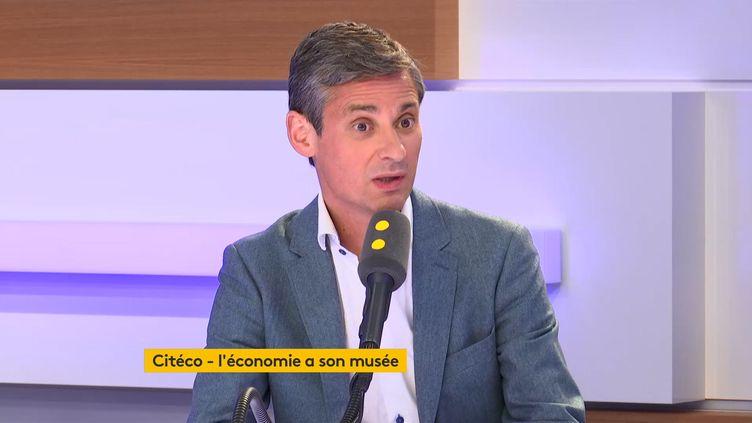 Philippe Gineste, directeur de Citéco sur le plateau de franceinfo. (FRANCEINFO)
