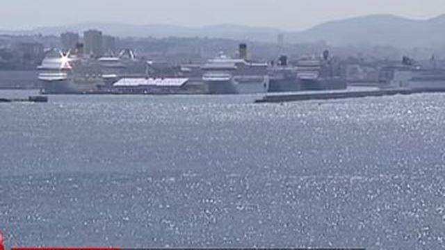 Marseille, la ville des bateaux de croisière