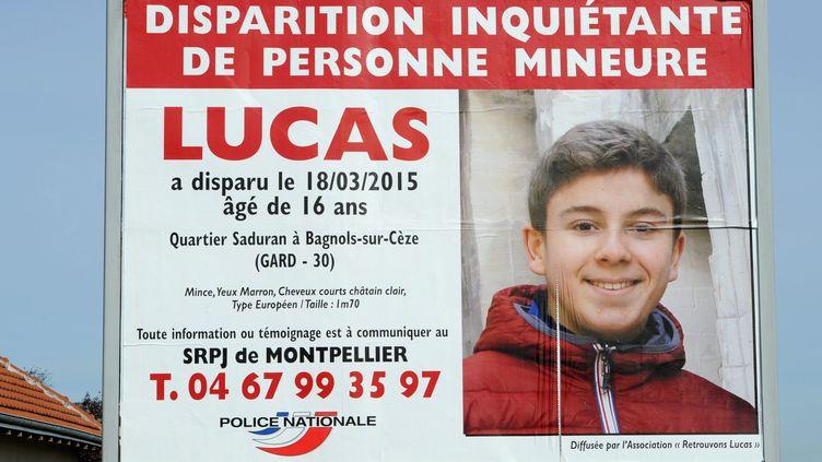 L'appel à témoin lancé pour retrouver Lucas Tronche, 16 ans, disparu depuis le 18 mars 2015, dans le Gard. (MAXPPP)