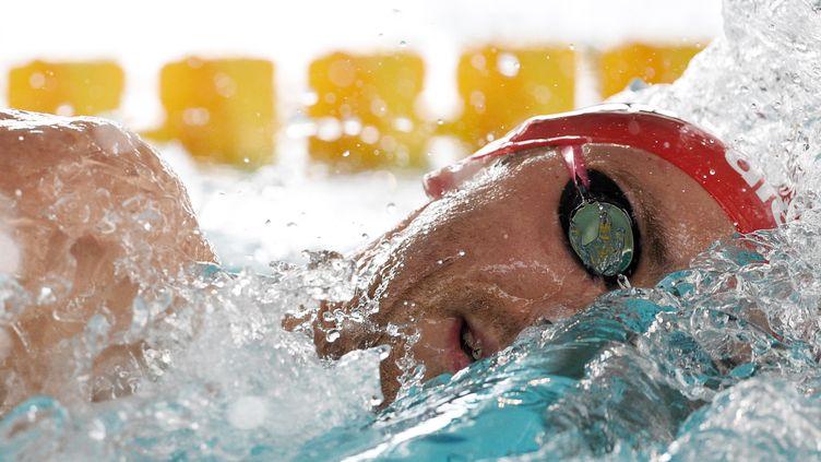 Le nageur d'Amiens Jérémy Stravius (PHILIPPE MILLEREAU / DPPI MEDIA)