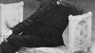 Un portrait de Marcel Proust (1871-1922) réalisé vers 1900. (MANUEL COHEN / AFP)