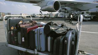 Des bagaes à l'aéroport de Roissy Charles-de-Gaulle (Val d'Oise), le 2 juillet 2008. ( AFP / PHOTONONSTOP)