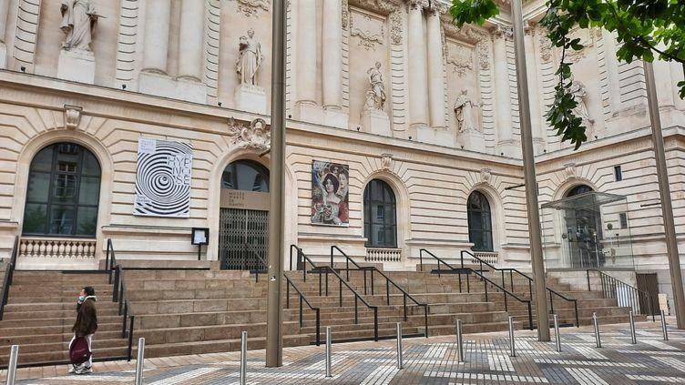 Le Musée d'art de Nantes ouvrira le 19 mai 2021. (ANNE CHEPEAU / RADIO FRANCE)