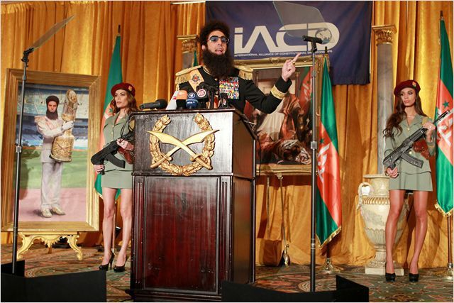 """Sacha Baron Cohen : """"The Dictator"""" de Larry Charles  (Paramount Pictures France)"""