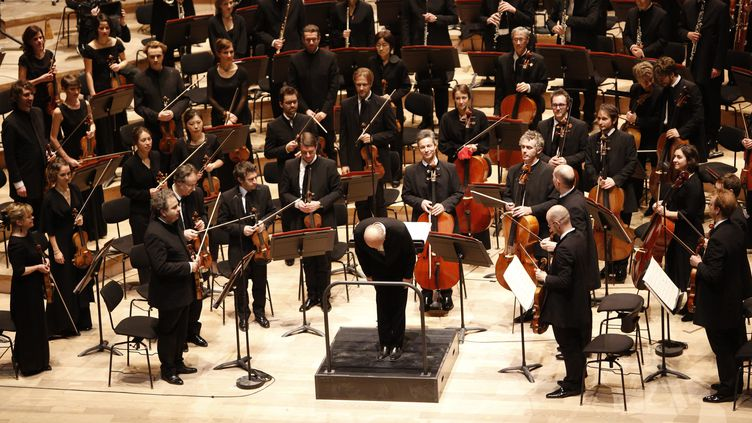 Orchestre à la Philarmonie deParis (MAXPPP)