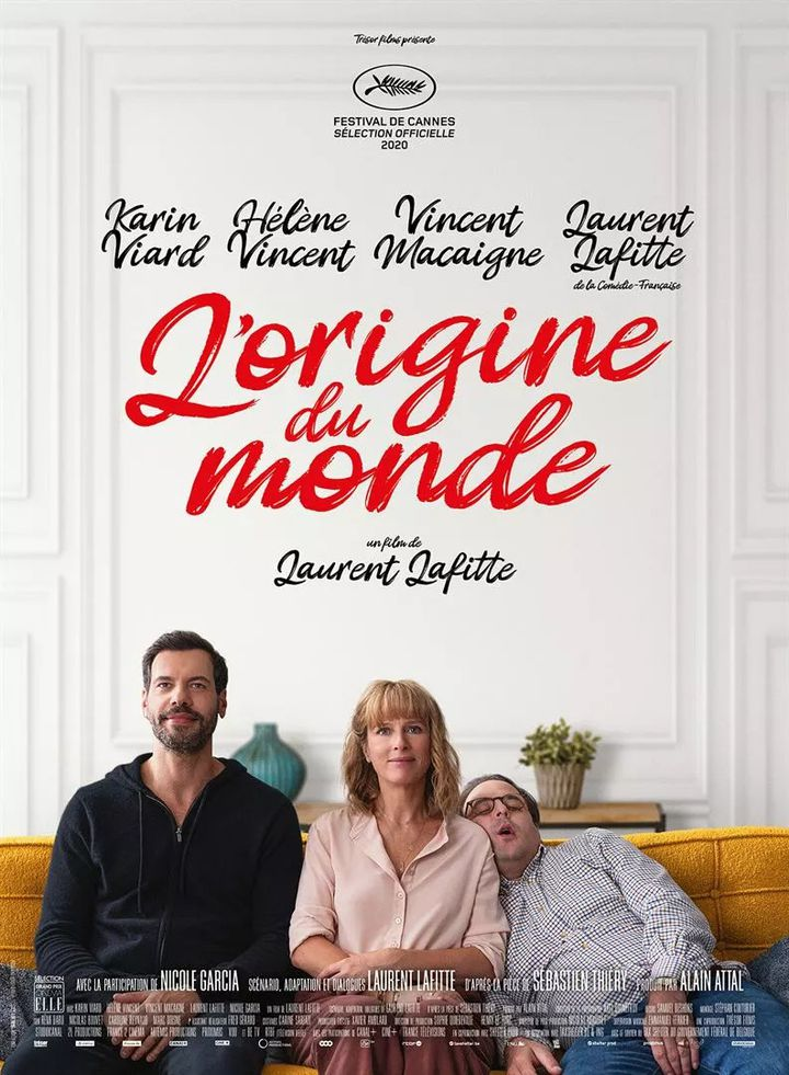 """Affiche du film """"l'origine du monde"""", de Laurent Lafitte, novembre 2020 (Studio Canal)"""
