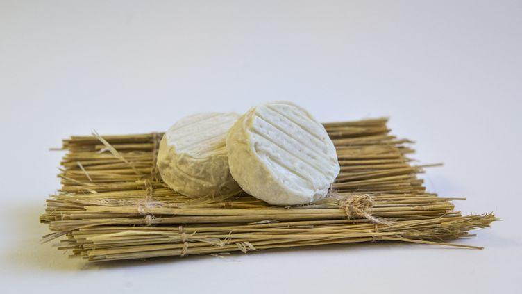 La société Mounier, basée à Quézac (Lozère), a rappelé des fromages après la découverte d'une vingtaine de cas de salmonellose. (YANN CASTANIER / HANS LUCAS / AFP)