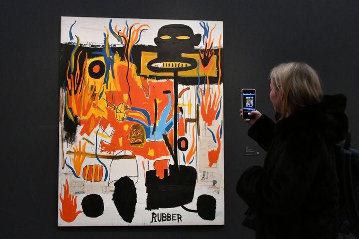 Rubber, de Jean-Michel Basquiat, 1985 (NILS JORGENSEN/COVER IMAGES/SIPA / COVER IMAGES)