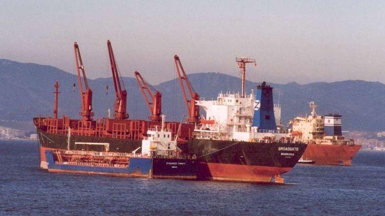 La baie de Gibraltar est le 4ème site de bunkering au monde (DR)