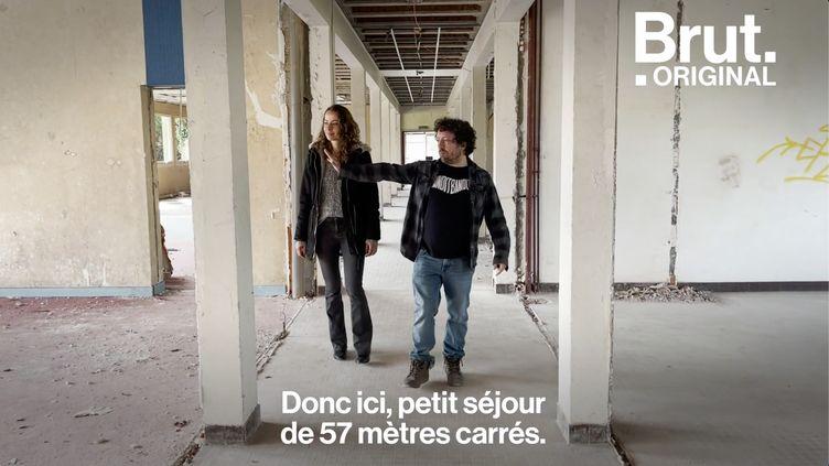 VIDEO. Ils rachètent un lycée abandonné pour en faire un lieu culturel (BRUT)