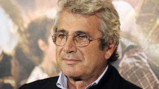 """Michel Boujenah lors de la sortie du film """"Ces amours-là"""", de Claude Lelouch, le 12 septembre 2010 à Paris. (BORIS HORVAT / AFP)"""