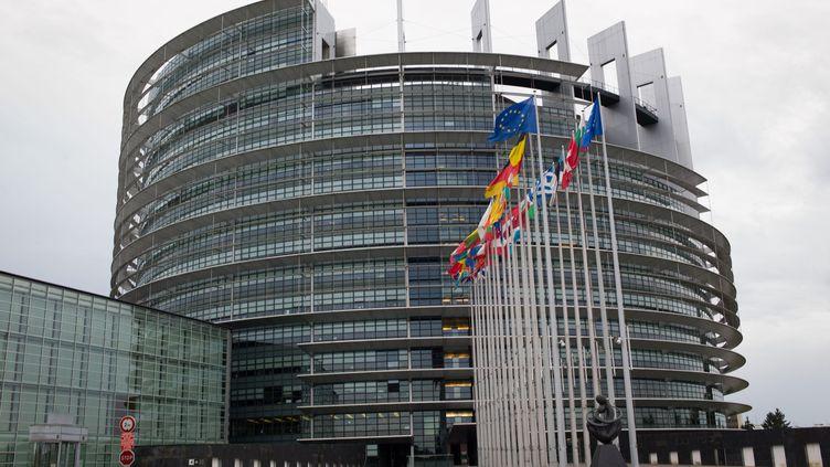 Le Parlement européen à Strasbourg (Bas-Rhin). (MAXPPP)