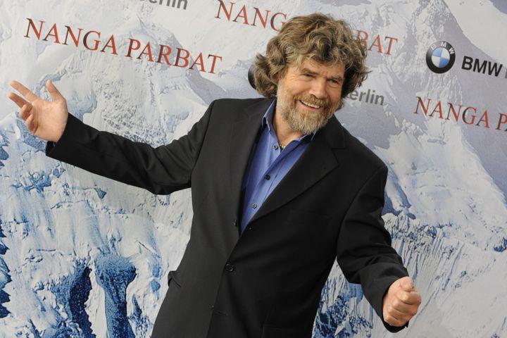 """Reinhold Messner à l'avant-première du film """"Nanga Parbat"""", à Berlin, le 30 mars 2009. (RAINER JENSEN / DPA / AFP)"""