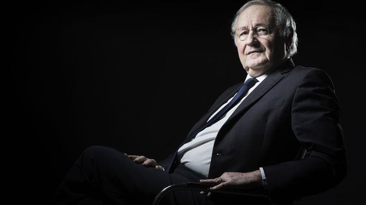 Le candidat à la présidentielle Jacques Cheminade, à Paris, le 15 novembre 2016. (JOEL SAGET / AFP)