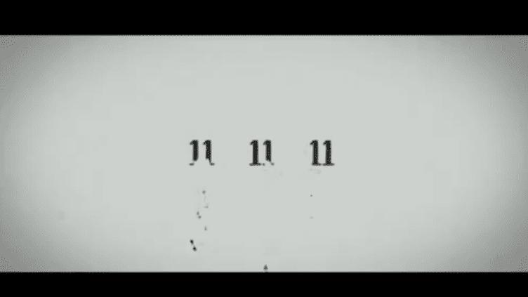 """Capture d'écran de la bande-annonce du film """"11-11-11"""", en salle le 11 novembre 2011. (FTVi)"""