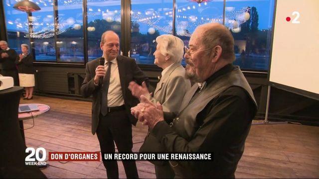 Don d'organes : un record pour une renaissance