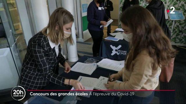 Les concours des grandes écoles ont repris, avec des protocoles sanitaires stricts