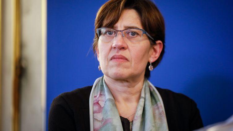 La climatologue Valérie Masson-Delmotte, à Paris, le 20 décembre 2018. (THOMAS PADILLA / MAXPPP)